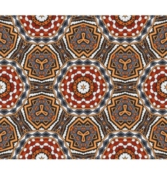 Abstract tribal indian motif seamless pattern vector