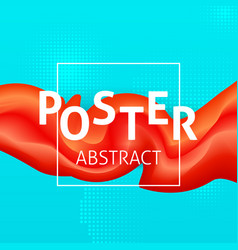 abstract colorful poster vector image