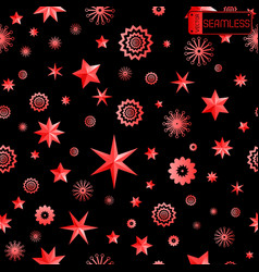 Glamour red and black seamless texture background vector
