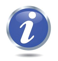 Information button vector