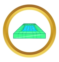 Pool icon vector