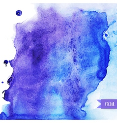 Watercolor texture grunge paper template wet paper vector