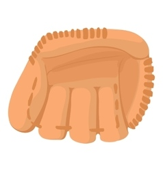 Baseball glove icon cartoon style vector