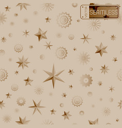 Glamour beige seamless texture background with vector