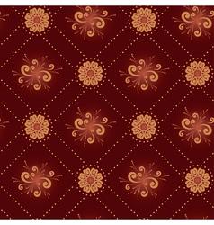 Seamless dark brown texture vector