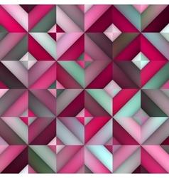 Seamless pink shades gradient rhombus vector