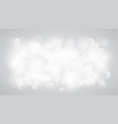 Abstract white blurred background vector