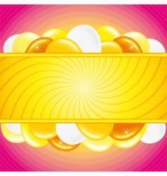 festive theme vector image