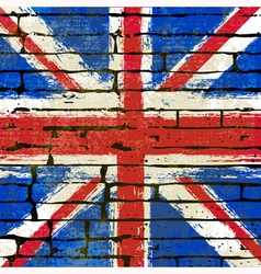 Union Jack Wall vector image