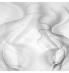 Abstract background of gray smoke vector image vector image