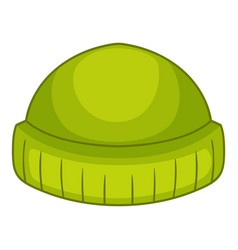 Beanie icon cartoon style vector