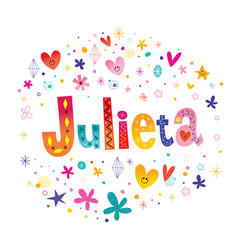 Julieta female name vector
