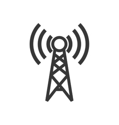 Antenna signal internet global communication icon vector