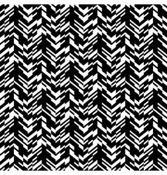 Abstract techno chevron pattern vector image