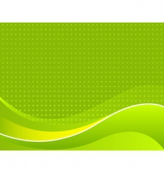 Abstract apple green background vector