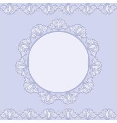 Ornamentsblef vector