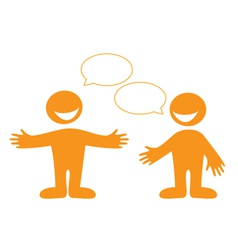 conversation people vector image