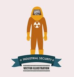 Industrial security desing vector