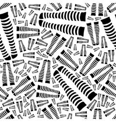 Knee-length socks seamless pattern vector