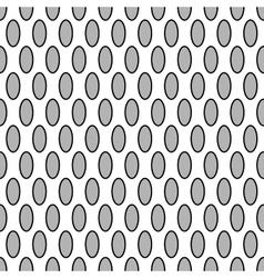 Oval geometric seamless pattern 7209 vector
