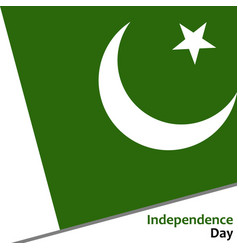 Pakistan independence day vector