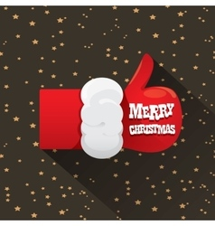 Merry christmas greeting card or background vector