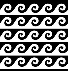 greek pattern seamless design ancient vase vector image