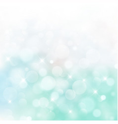 Lights on blue and green background bokeh circle vector