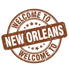 Welcome to new orleans vector