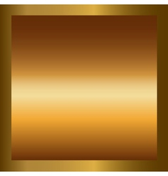 Gold texture square golden frame vector