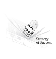 Strategy for success vector image