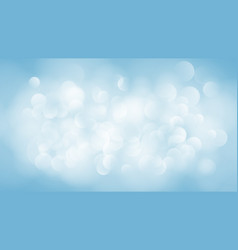 Abstract light blue blurred background vector