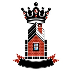 Imperial coat of arms royal house conceptual vector