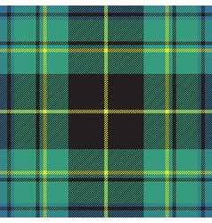 Pride of ireland tartan fabric texture seamless vector
