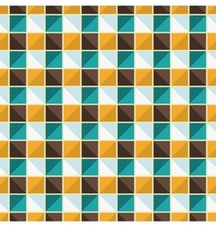 Geometric endless pattern vector