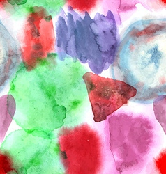 Abstract watercolor art hand paint seamless vector