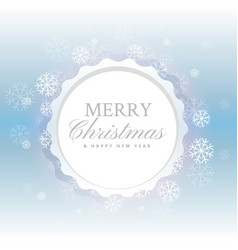 Beautiful merry christmas background with vector