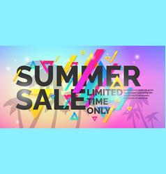 best sale banner vector image