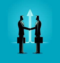Business deal concept vector