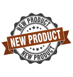New product stamp sign seal vector