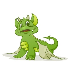 Small dragon vector image