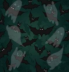 Seamless pattern with for halloween party vector
