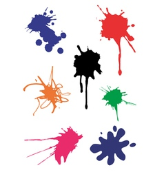 Spots splash vector