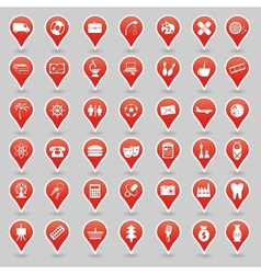 Sign icons vector