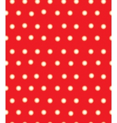 Red polka seamless vector