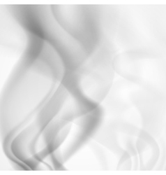 Abstract background of gray smoke vector