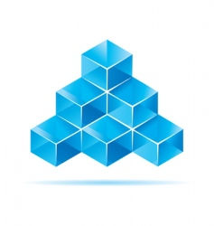 cube design vector image