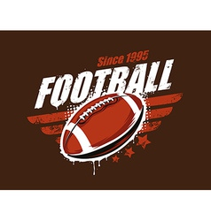 Football Art vector image