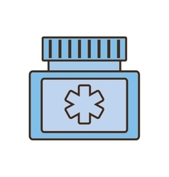 Medicine bottle protein capsule vector