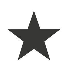 star single isolated icon design vector image